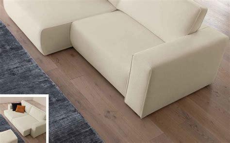 sedute per divani divano con sedute estraibili in tessuto bianco