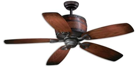 vaxcel cabernet ceiling fan with charred oak finish