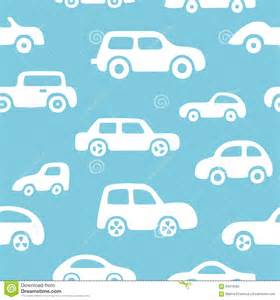 Urban Wall Stickers doodle cars background seamless baby boy pattern in