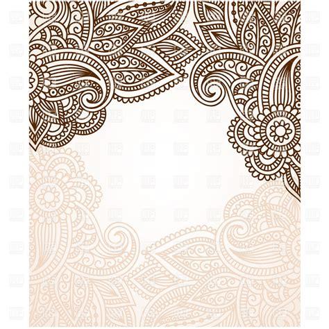 henna clipart henna borders clip studio design gallery best