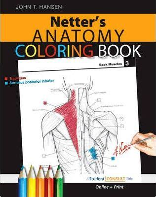 anatomy colouring book nz netter s anatomy coloring book t hansen