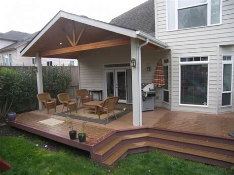 Patio Cover and Trex Deck, Corvallis : TnT Builders