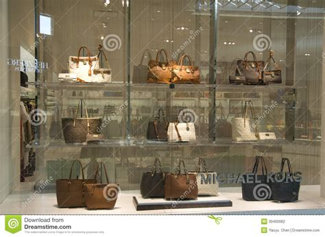seattle lighting outlet store michael kors purse store editorial photography image