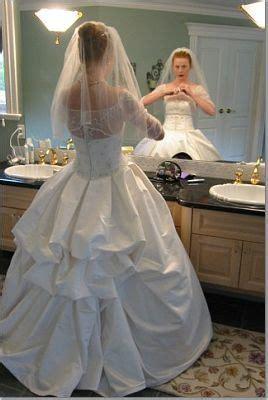 american bustle wedding dress for the bride design