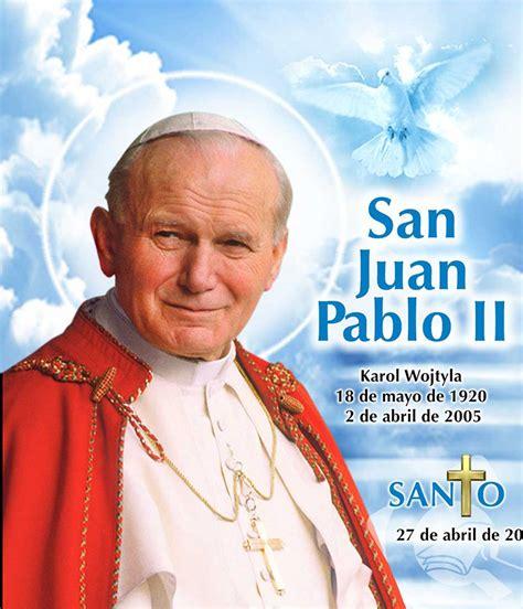 biografia del papa juan pablo ii papa francisco en la fiesta de san juan pablo ii