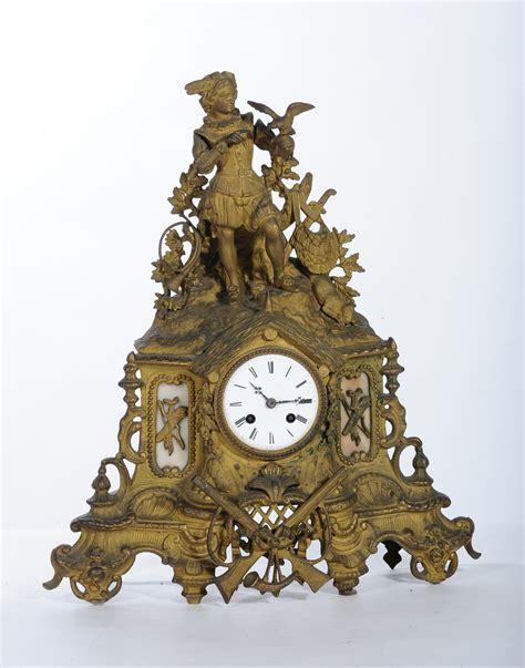 orologi antichi da tavolo orologio da tavolo in bronzo dorato xix secolo