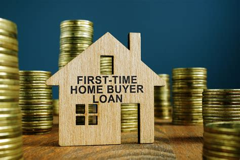 time home buyer loan sign  model  house stock