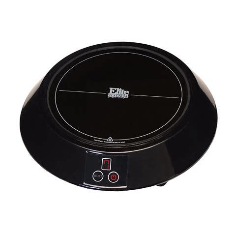 mini induction cook elite platinum mini induction cooker black appliances small kitchen appliances