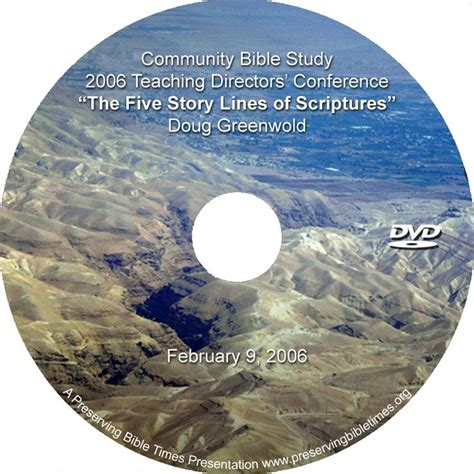 Five Story Lines 4fa82abc6a8e0 By Doug Greenwold Bible
