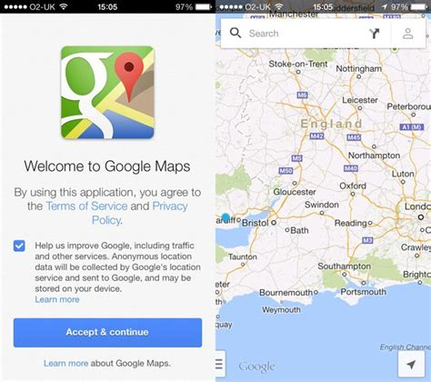 design running route google maps google maps for apple s ios updated