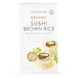 Brown Rice Herbs Powder Earth Organics 500g organic brown sushi rice clearspring 500g buy whole foods ltd