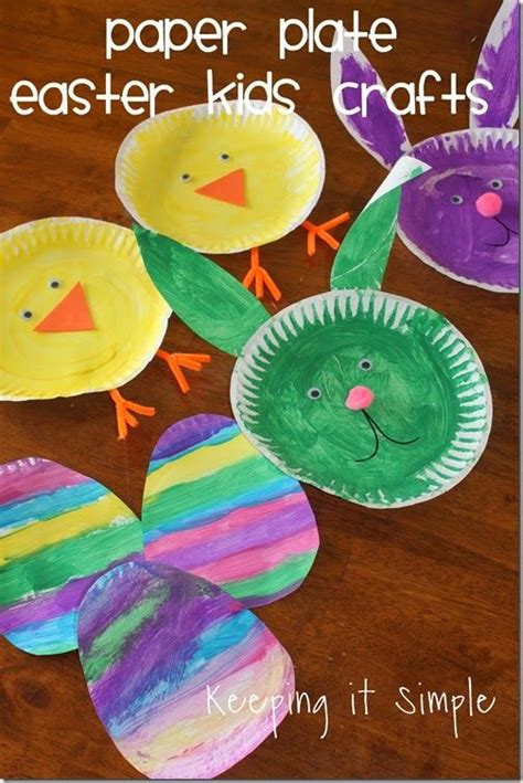 Easter Bunny Paper Plate Craft - best 25 easter songs ideas on songs