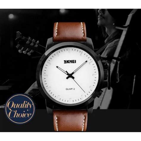 Skmei Jam Tangan Analog Kulit 1208 Brown Limited skmei jam tangan analog pria kulit 1208 brown jakartanotebook