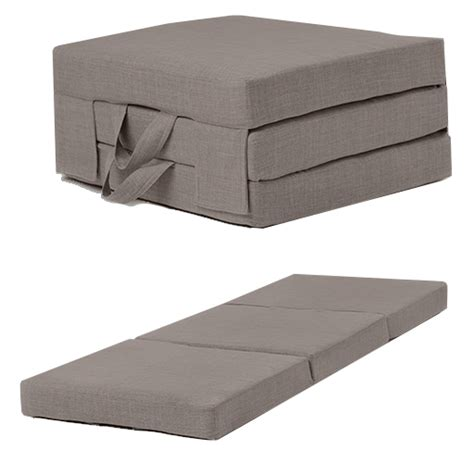 folding a futon fold out guest mattress foam bed single double sizes