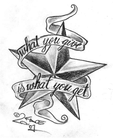 tattoo fonts with stars lettering stencils
