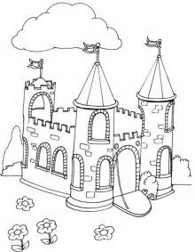 castle coloring pages coloringpages1001