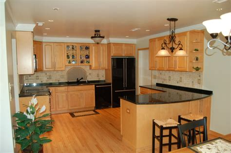 Maple Kitchen Ideas by Kitchen Backsplashes With Granite Countertops Kitchen