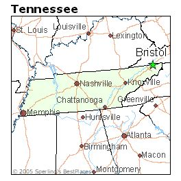 places    bristol tennessee