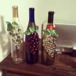 wine bottle crafts decorated wine bottles crafts