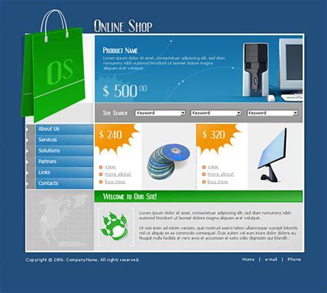 0721 shopping website templates dreamtemplate