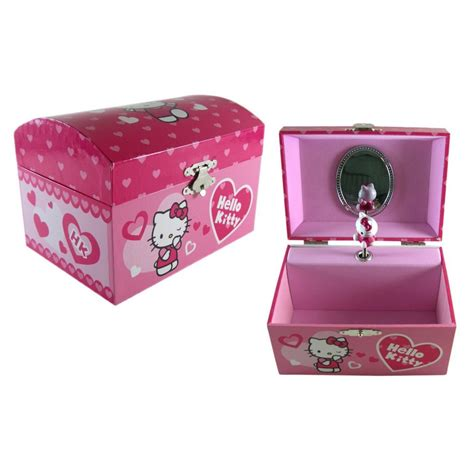 Assc Box Pink pink sanrio hello jewelry box pink shoes pink clothes pink hello pink everything