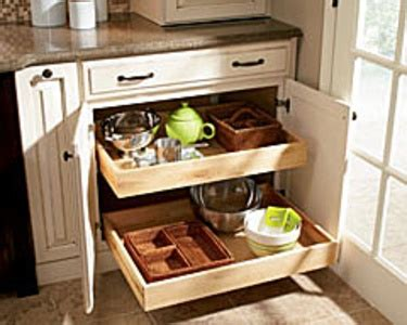 Kitchen Cabinet Roll Out Trays by Shenandoah Cabinets Deep Roll Out Trays