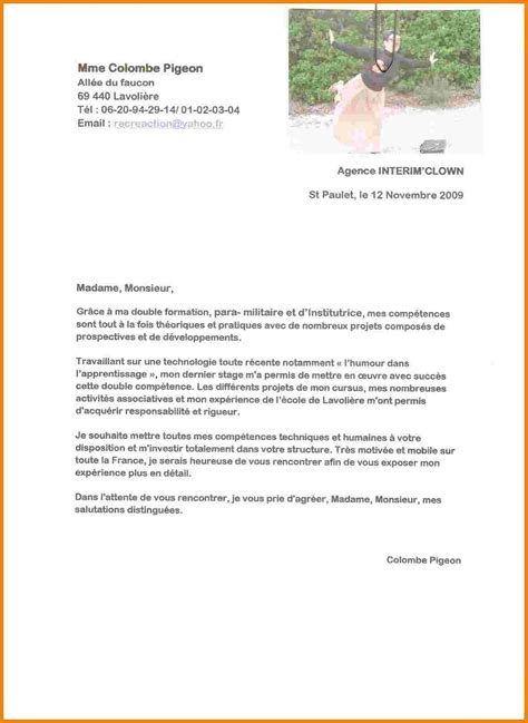 Lettre De Motivation Ecole Optique lettre de motivation stage optique