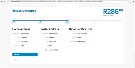bug telkm telkom website exposes personal details