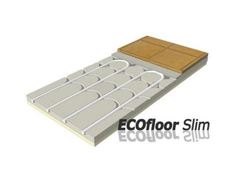pavimento radiante a secco pannello radiante a pavimento in gessofibra ecofloor slim