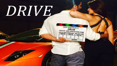 drive movie 2017 drive movie 2017 first look sushant singh rajput