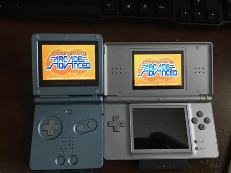 ds gameboy mod game boy advance sp backlit screen mod modern gaming