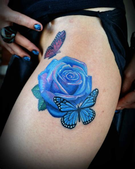 royal rose tattoo rose thigh tattoo on tattoochief com