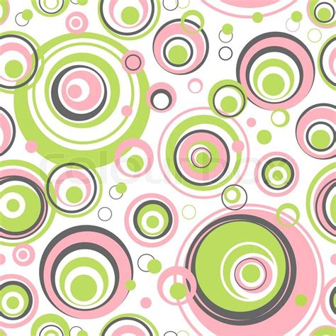 circle pattern in vector circles seamless pattern vector background for