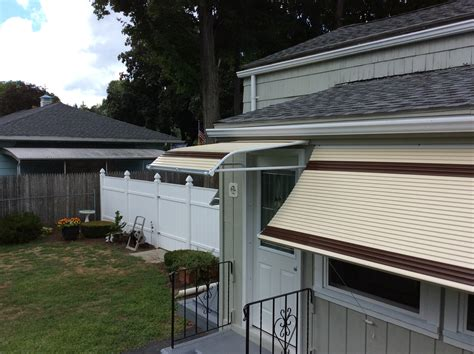 aluminum roll up awnings aluminum window roll up and doorway awnings canopies