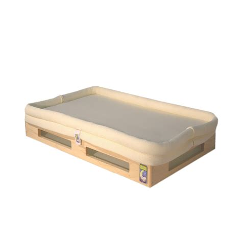 Small Crib Mattress Mini Breathe Through Crib Mattress Maple Base Secure Beginnings