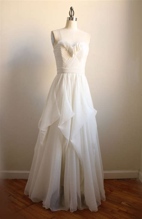 Handmade Bridal Gowns - 9 etsy wedding dresses we for 2012 brides onewed