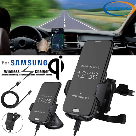Samsung S8 Wireless Charging genuine qi wireless car charger dock mount holder samsung