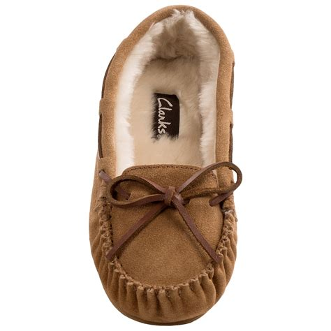 plush slippers for clarks plush moc slippers for save 60