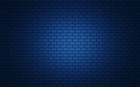 wallpaper blue brick textures blue brick gradient simple hd wallpaper