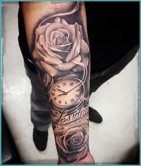 imagenes tatuajes brazo hombres tatuajes de flores para hombres en el antebrazo los