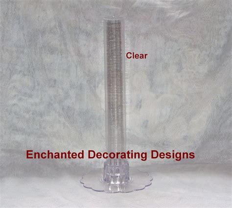 Clear Plastic Cylinder Vases by 12 Quot Clear Plastic Cylinder Vase Wedding And 50 Similar Items