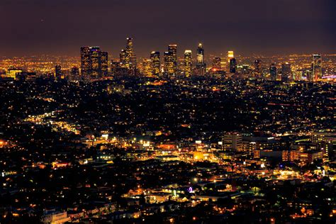 La Lighting by La Los Angeles At Seen From The Griffith