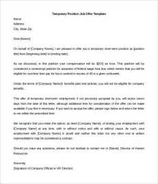 letter of offer template 31 offer letter templates free word pdf format