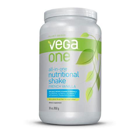 b protein powder vanilla one all in one nutritional shake