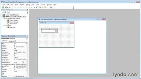 excel 2010 combobox tutorial excel vba userform combobox limit to list create an