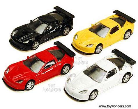 Die Cast City Vehicle 6 Pcs 2010 chevy corvette c6 r top by rmz city 3 diecast