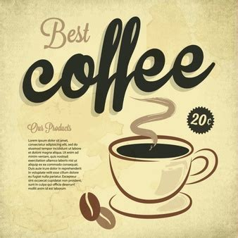 Poster 52 And Coffee coffee poster vectors photos and psd files free
