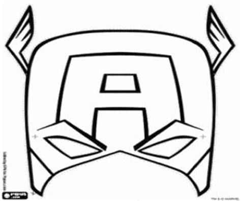 captain america helmet template captain america mask coloring page to use for buttercream