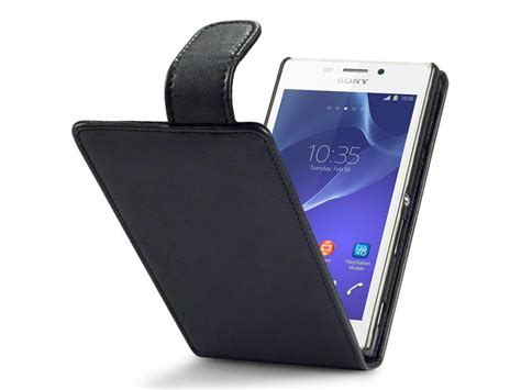 Sony Xperia M2 Casing Cover Kasing qubits flip hoesje voor sony xperia m2