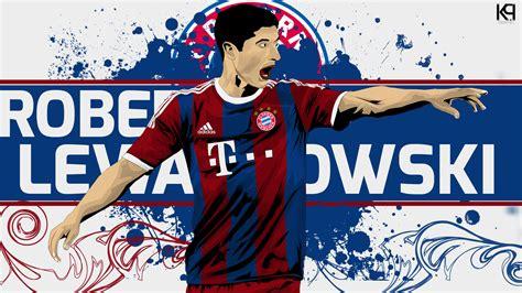 Jam Dinding Bayern Munchen kumpulan wallpapers robert lewandoski terbaru 2016 bola